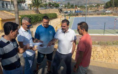 L'Alfàs inicia las obras para instalar una cubierta en la pista multideporte