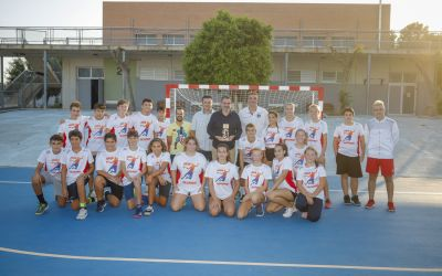 El  balonmano alfasino  destacó en  el I Torneo de pretemporada Bahia de Almería
