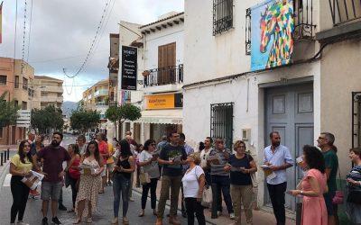 """Ya se puede visitar en l'Alfàs del Pi la exposición """"Balconades"""""""