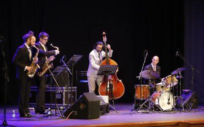 La Casa de Cultura vibró con la música de Jeff Jerolamon Jazz Experience
