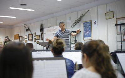 David Fernández, nuevo director artístico de la Sociedad Musical la Lira de l´Alfàs del Pi