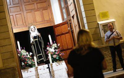 L'Alfàs celebra este viernes 'Les Copletes a la Verge dels Dolors'