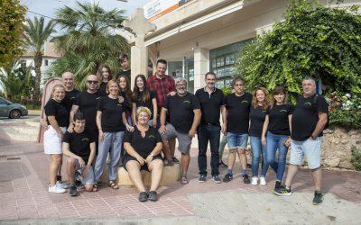 La nueva comisión de las fiestas de la Creueta se ha presentado ante el Ayuntamiento
