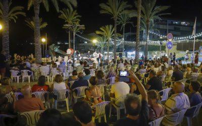 Éxito de público en las  actuaciones que han cerrado la programación cultural del Estiu Festiu y Concerts a la lluna de l'Albir