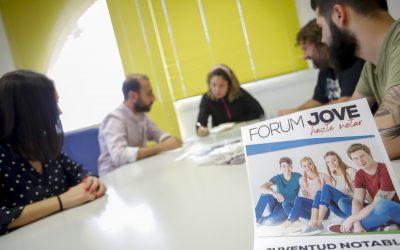 La Concejalía de Juventud realizará una nueva edición del Fòrum Jove el próximo 4 de octubre.