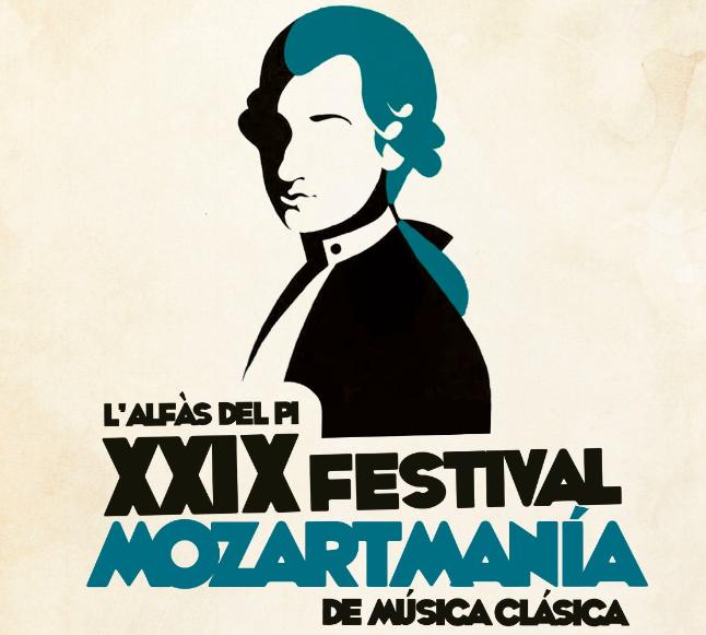 Mañana arranca en l'Alfàs el 29 Festival Mozartmanía de música clásica