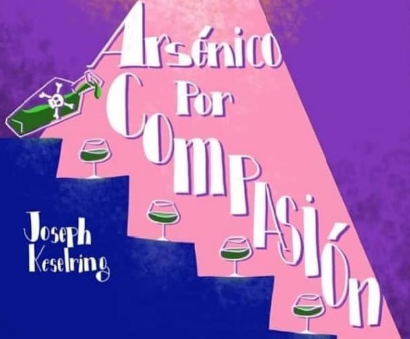 La compañía Akra Leuka Teatre presenta mañana en l'Alfàs la comedia 'Arsénico por compasión'