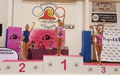 Nuevo Oro de Elena Nikolova en el Campeonato Autonómico con plaza asegurada para el Nacional .