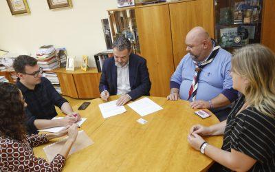El Ayuntamiento renueva su colaboración con el Grupo Scout IV de l'Alfàs