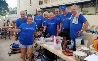 La Fundación Make a wish recauda 2.000 euros con un rastro solidario
