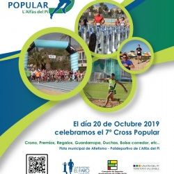 Récord de inscripciones al Cross Popular y Escolar de este domingo en l'Alfàs
