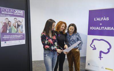'Jóvenes con lentillas violetas' este viernes 29 en pro de la igualdad