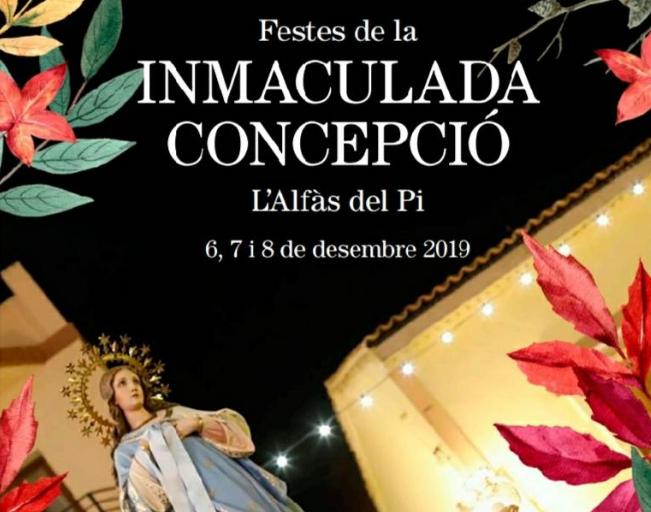 L'Alfàs del Pi celebrará este fin de semana las fiestas de la Inmaculada Concepción
