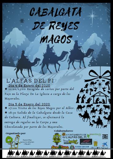 L'Alfàs se prepara para recibir el domingo a los 3 Reyes Magos