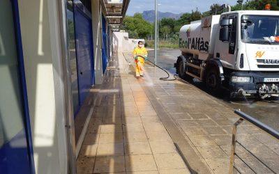 No se baja la guardia desde el área de limpieza contra el COVID-19