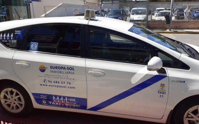 L'Alfàs no cobrará la tasa por la licencia de situación a los taxis hasta 2021