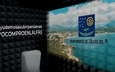 El Ayuntamiento de l'Alfàs lanza la campaña 'Ayudemos a subir persianas' a favor del comercio local