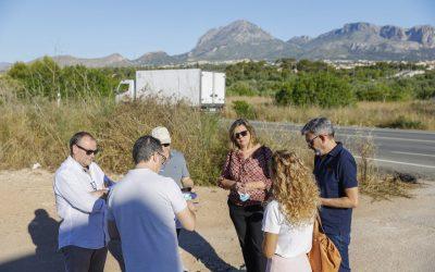 Comienzan las obras del nuevo vial de acceso a l'Albir
