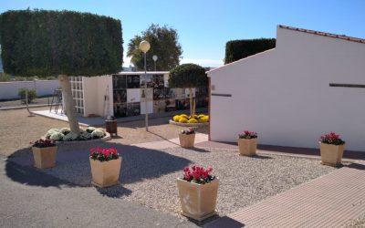 L'Alfàs pone a punto el cementerio municipal para celebrar un Todos los Santos con protocolo COVID