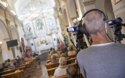 Las misas de las Fiestas del Jubileo y del Cristo de l'Alfàs se han seguido en directo por internet