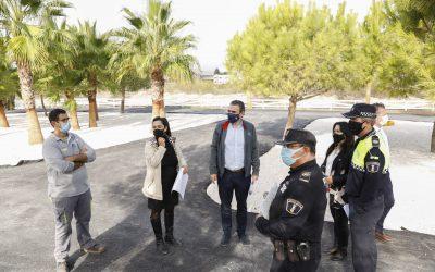 Ya está asfaltado el primer parque de Educación Vial  de l'Albir