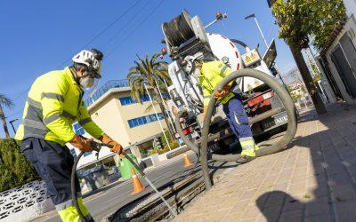 El Ayuntamiento de l'Alfàs activa el dispositivo de limpieza de colectores e imbornales