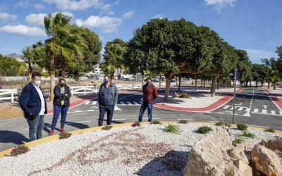 Últimos preparativos para la puesta en marcha del nuevo circuito de educación vial de l'Alfàs