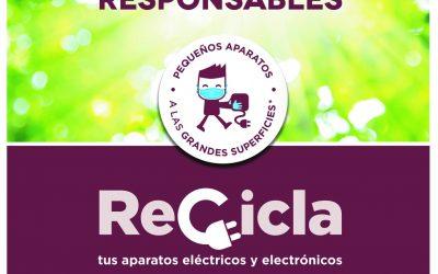 Recala en l'Alfàs la campaña 'Recicla' tus aparatos eléctricos y electrónicos