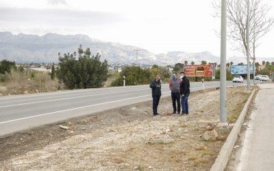 L'Alfàs aprueba la expropiación de 7.996 metros cuadrados para la construcción de un nuevo carril bici