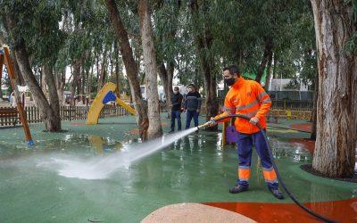 El Ayuntamiento de l'Alfàs reabre los parques infantiles mañana martes