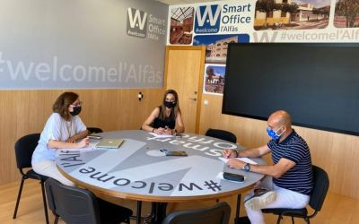 L'Alfàs del Pi acogió una  reunión del  la Ruta del Vino de  Alicante