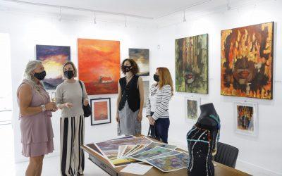 Bente Halvorsen presenta su exposición 'Elements' en Gallery Albir