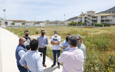 Comienzan las obras del campo de fútbol 8 de césped artificial en l'Albir