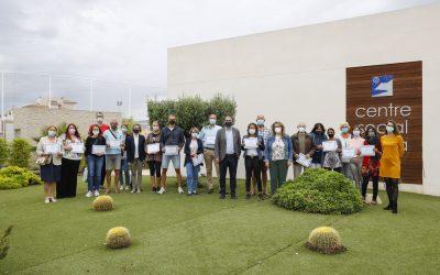 Finalizan los cursos de español organizados por el área de Residentes y la Oficina Pangea de l'Alfàs