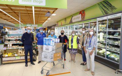 Amis de la Francophonie de l'Alfàs realiza una compra solidaria para el Voluntariado Social