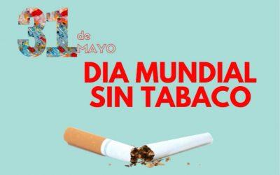 'Comprometerse a dejar de fumar' es el lema del Día Mundial sin tabaco que se conmemora hoy