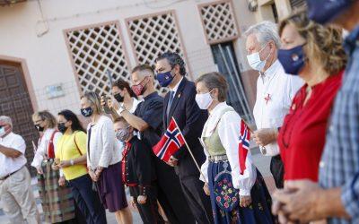 L'Alfàs conmemora un año más el Día Nacional de Noruega