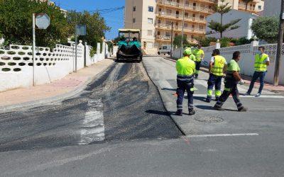 Finalizan las obras de soterramiento de líneas de media tensión en la zona de l'Albir