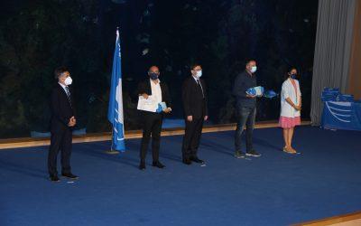 Luis Morant ha recogido las 7 Banderas Azules que ha conseguido este año el municipio