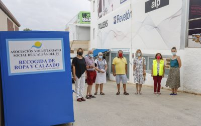 La asociación Odd Fellows Costa Blanca colabora de nuevo con el Voluntariado Social de l'Alfàs del Pi