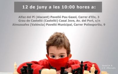 L'Alfás del Pi acogerá el campeonato Provincial de Ajedrez