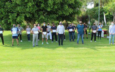 Esta tarde se ha celebrado la Clausura de las Escuelas Municipales Deportivas