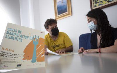 La concejalía de Juventud organiza un nuevo curso de manipulador de alimentos
