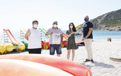 El 1 de julio se inician las salidas gratuitas en kayak por Serra Gelada dirigidas a jóvenes