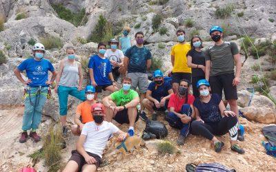 Juventud y Deportes repiten el taller de iniciación a la escalada dado el gran interés