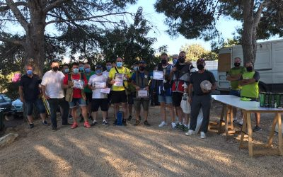 El Club de Cazadores   la Paloma de l'Alfàs del Pi  convocó un fin de semana de competición