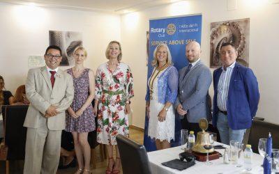 Sharon Nilsson elegida nueva presidenta del Rotary Club Internacional de l'Alfàs del Pi
