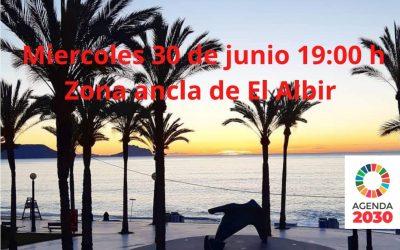 Clase de baile gratuita para todos los públicos esta tarde en la playa de l'Albir