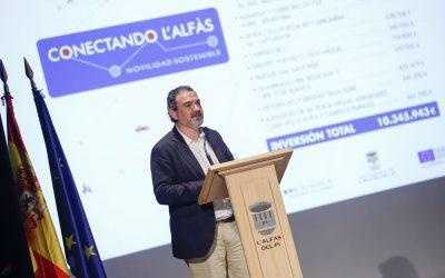 Arques presenta las mejoras de movilidad en l'Alfàs presupuestadas en más de 10 millones de euros