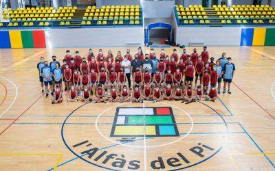 Hoy se ha hecho la foto oficial el Campus de Basket de l'Alfàs del Pi